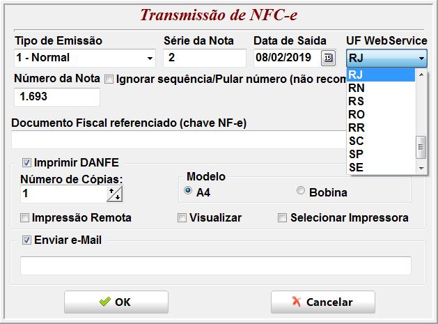 Invistto NF-e WebServices